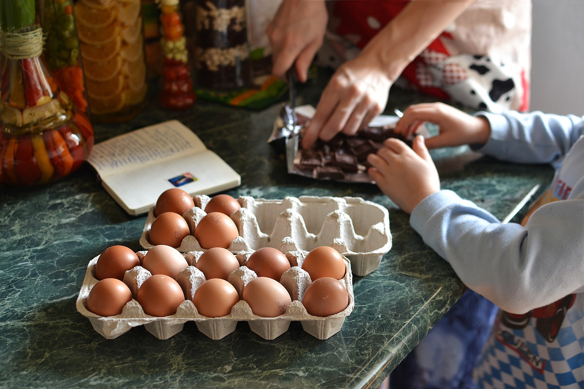 It's crazy how much we actually use eggs. We can cook and bake with them