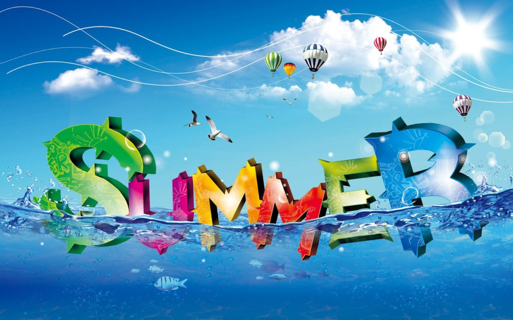 It's time to get the kiddies ready for summer. After all, fun, free summer holidays are coming up and things will change around the house.