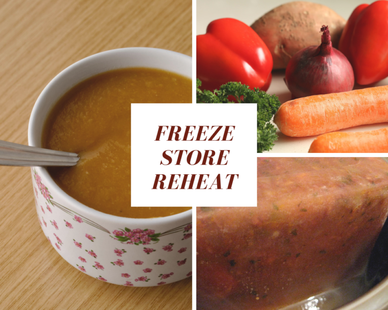 Everybody has their own way to freeze, store and reheat soup because that is just the smartest way to operate. Here are a few of our best tips.