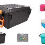 Organise your Garage – Four Types of Plastic Boxes