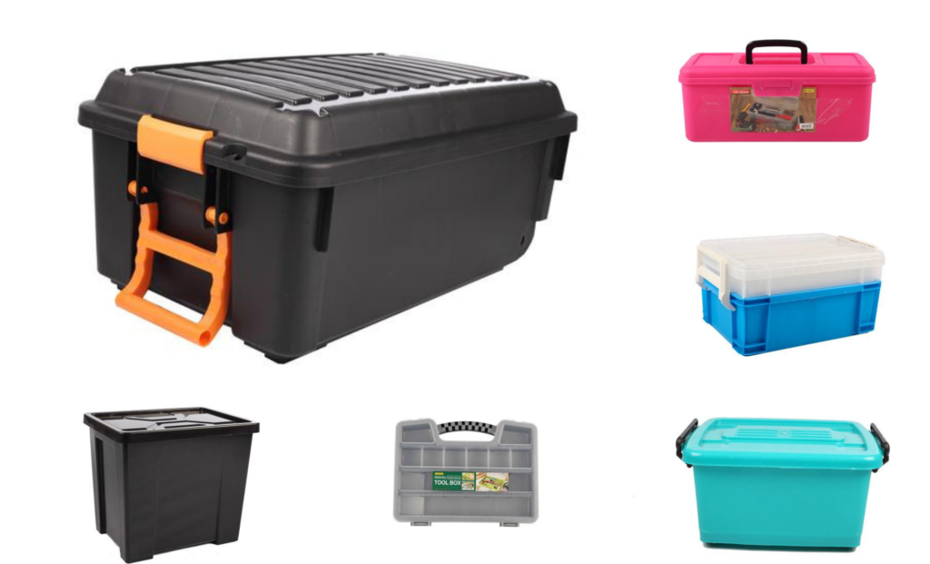 When we talk about organising your garage, we are talking about good plastic- the kind that is perfect for storage in Durban's hot and humid climate.
