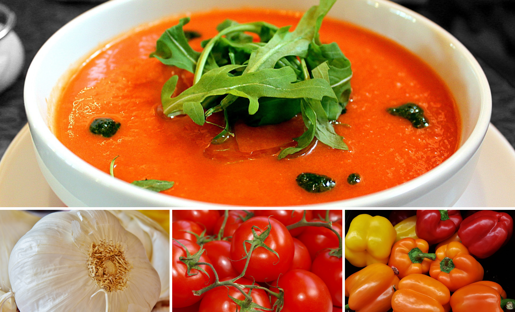 Delicious Gazpacho. Make-ahead Cold Summer Soup