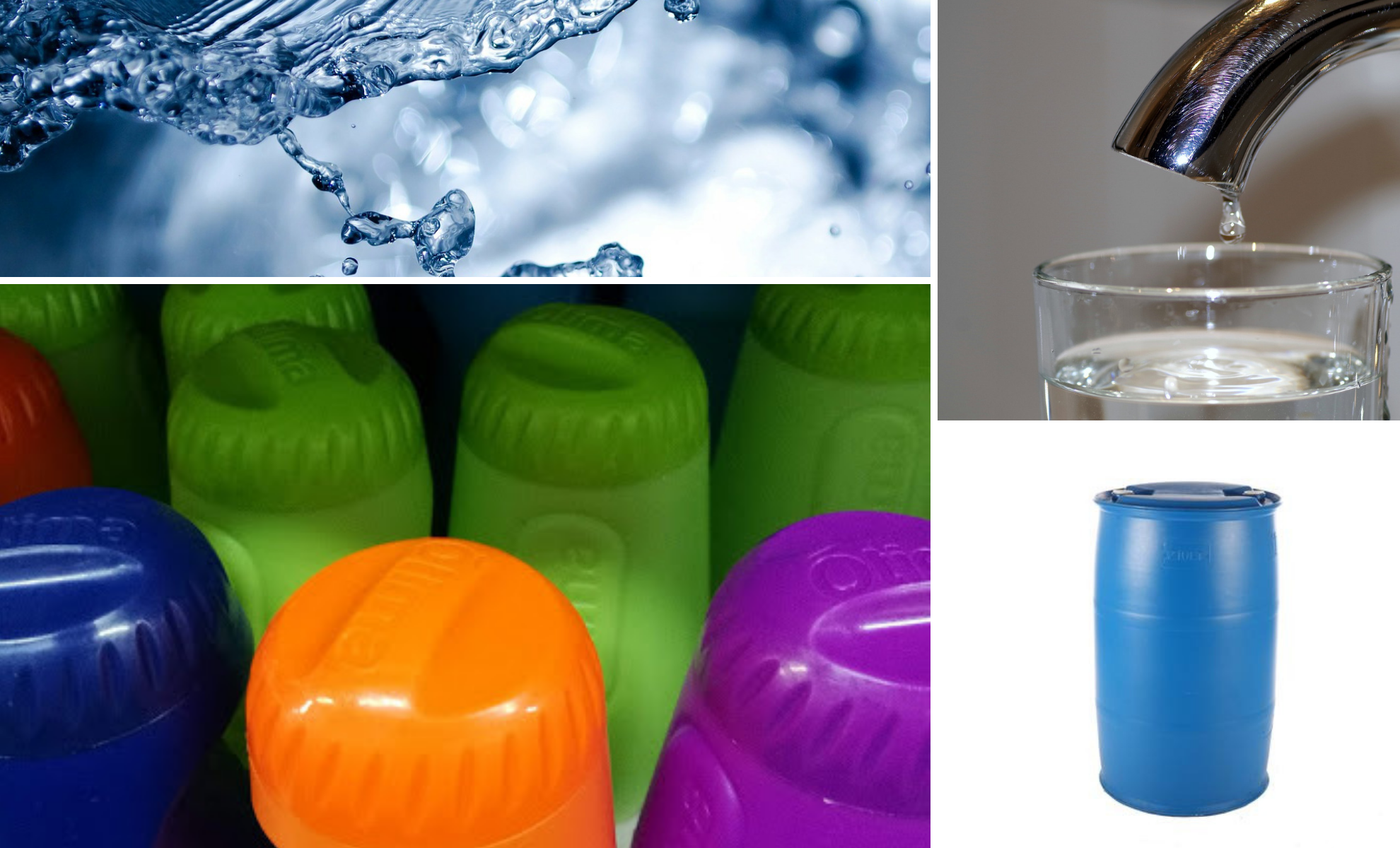 What water container is the best for storage? How long does bottled water last? Can you drink water that has been in a jerry can or a drum for two weeks? What water container is the best for storage?