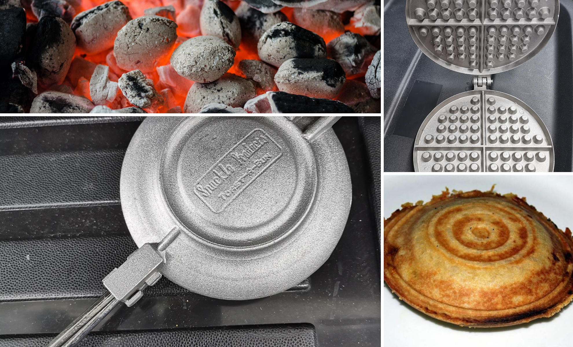 Winter Braai – Making Jaffels and Waffles on the Fire