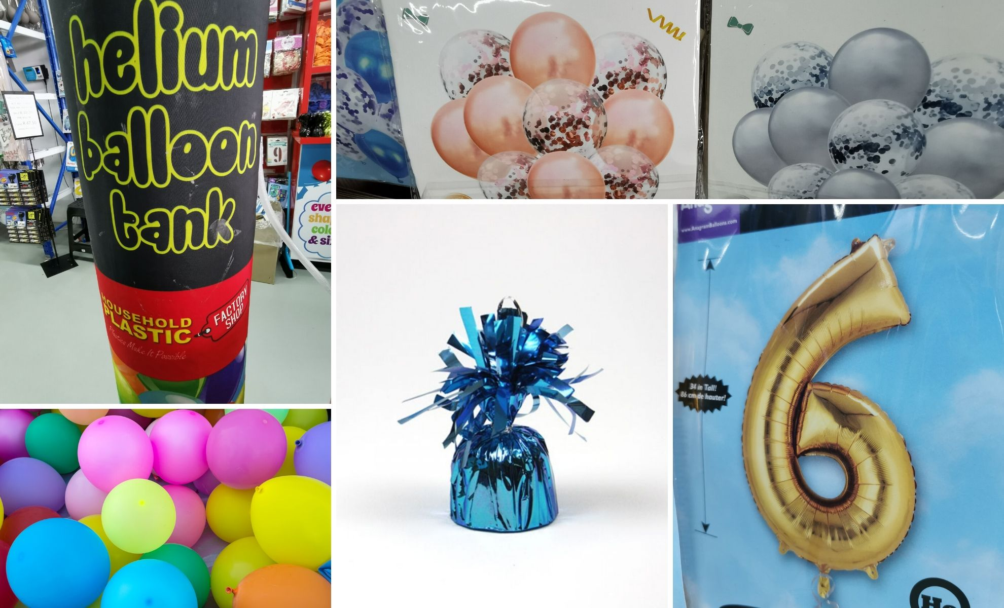 Balloons for Parties and Events