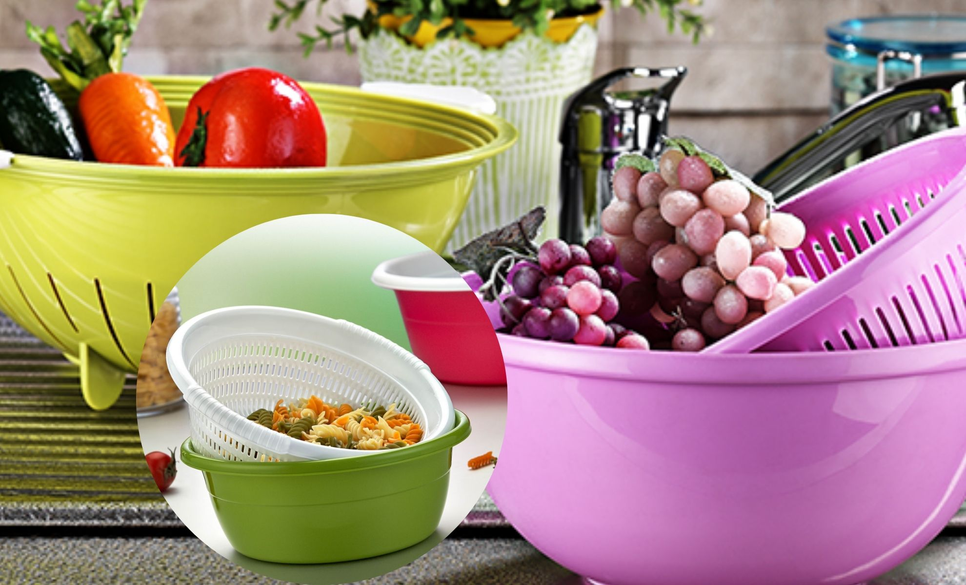Clever and Unusual Ways to use a Colander
